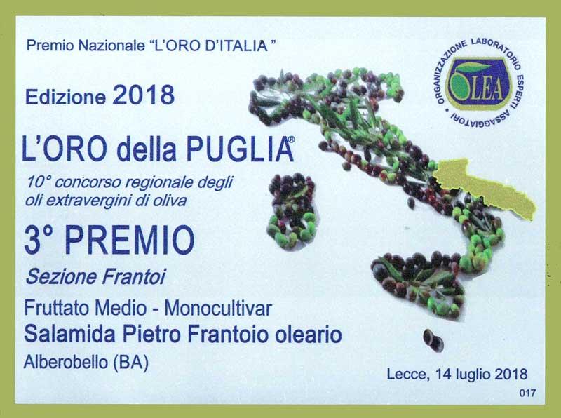 Oro Puglia